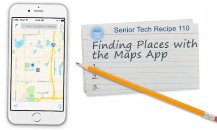 Finding Places with the Maps App
