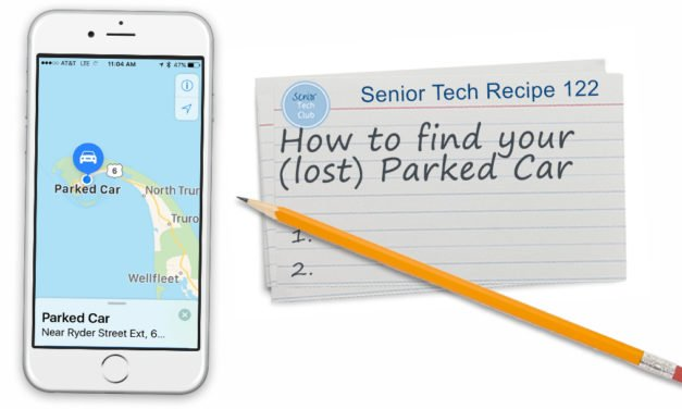 How to find your (lost) Parked Car
