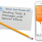 Sending Texts & iMessages with Special Effects