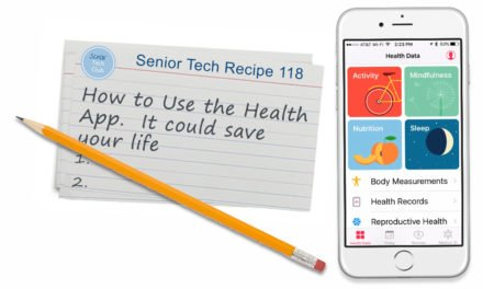 How to Use the iPhone Health App  —  It could Save your Life!