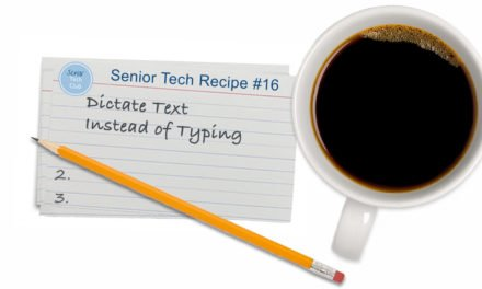 Dictate Text Instead of Typing – Great for those small keyboards!