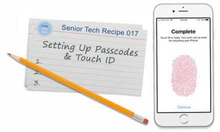 Setting Up Passcodes and Touch ID