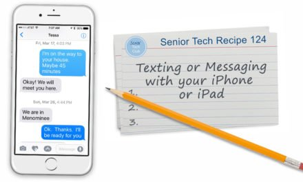 Texting and Messaging with your iPhone and iPad