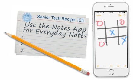 Use the Notes App for Everyday Notes