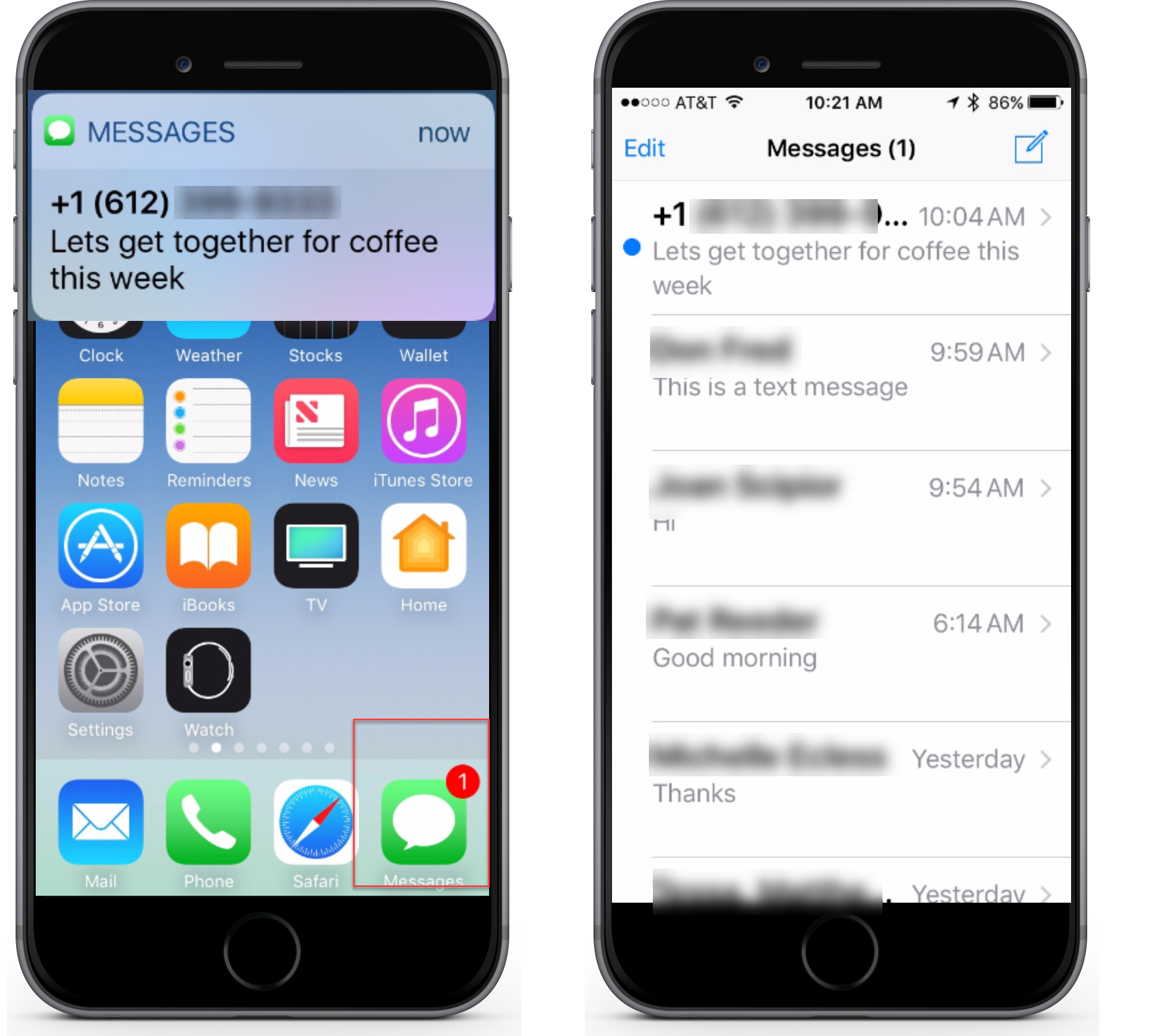 Texting and Messaging with your iPhone and iPad | Senior ...