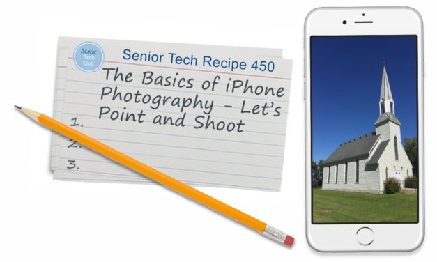 The Basics of iPhone Photography – Let's Point and Shoot