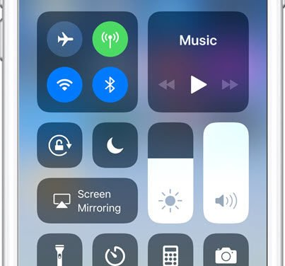 Add New Icons to Customize the Control Center