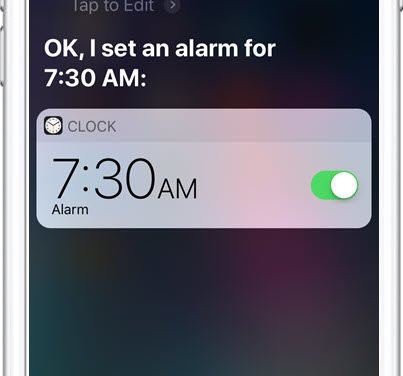 Use Siri to Set Timers and Alarms