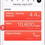 Using your iPhone to Track Steps and Exercise