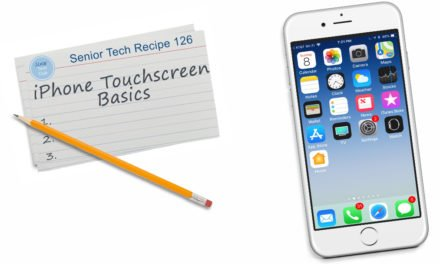 iPhone Touchscreen Basics