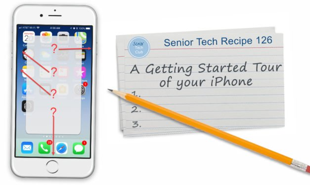 A Getting Started Tour of your iPhone