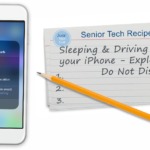 Sleeping and Driving with your iPhone - Exploring Do Not Disturb
