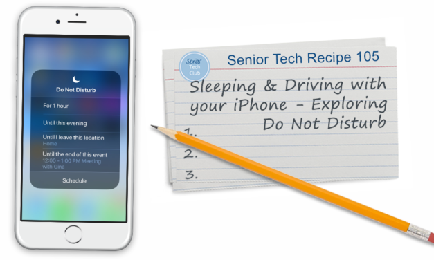 Sleeping and Driving with your iPhone – Exploring Do Not Disturb