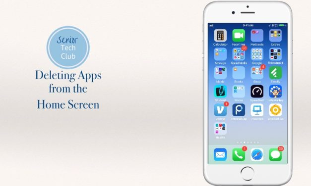 Deleting apps from your iPhone or iPad