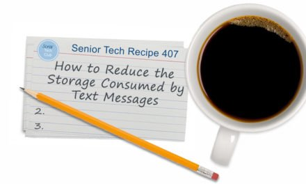 How to Reduce the Storage Consumed by Text Messages