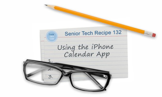 Using the iPhone Calendar App