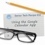 Using the Google Calendar App