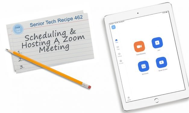 LIVE! #10 Scheduling and Hosting a Zoom Meeting