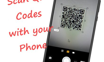 Scan a QR Code with your Android Phone