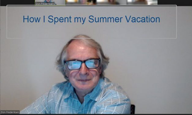 How I Spent My Summer Vacation – Service Style