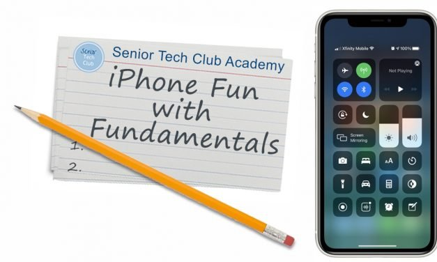 iPhone Fun with Fundamentals Video Archive